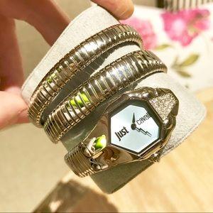 4664b8f9c1 Roberto Cavalli Accessories - ROBERTO CAVALLI Glam Chic Ice Blue Dial Watch